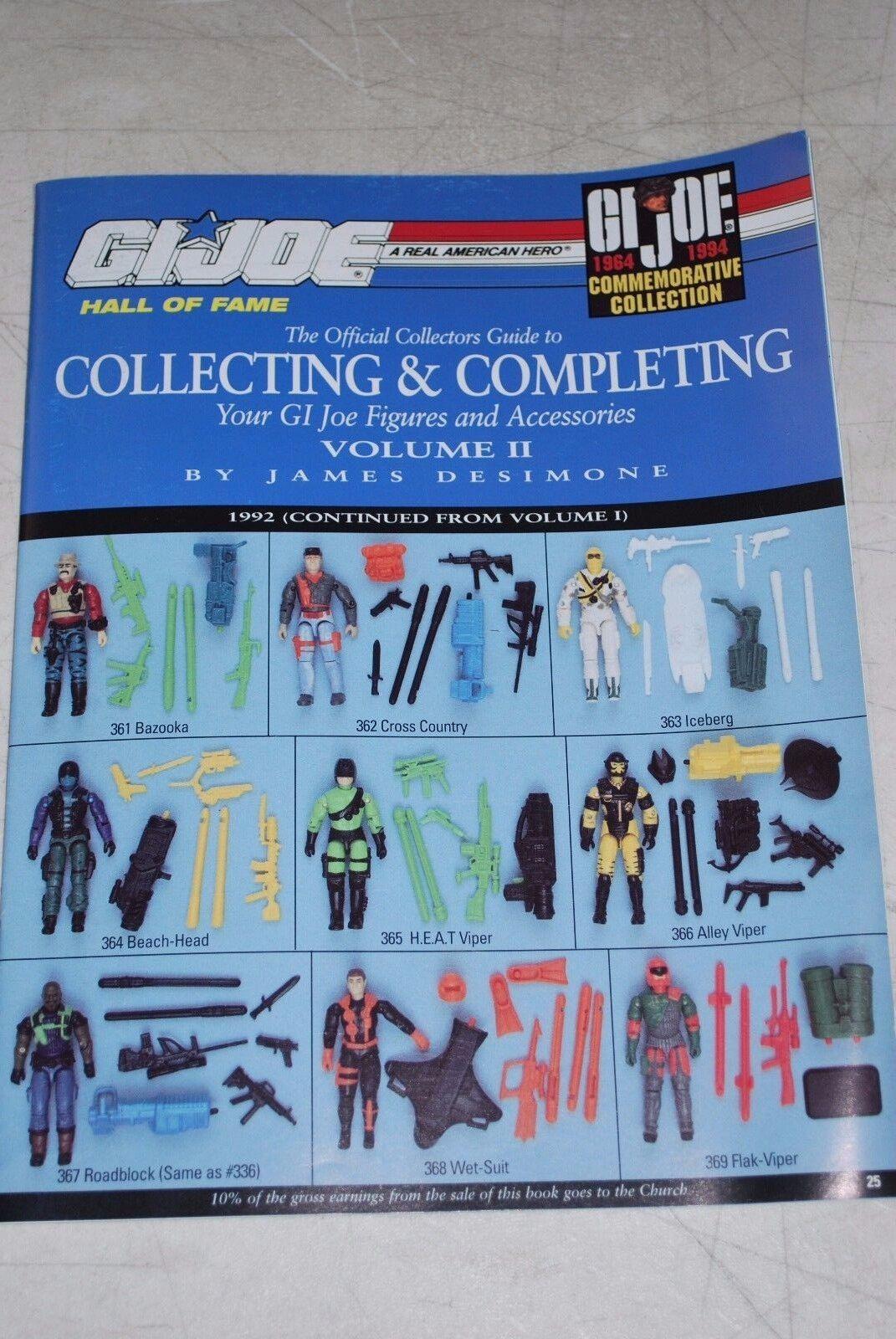 Offiziellen collector 's guide zu sammeln und abschluss ihrer gi joe zahlen vol. 2