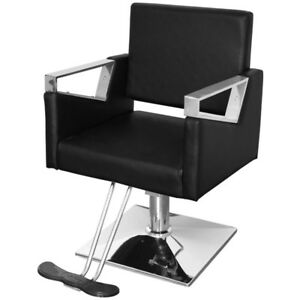 Enjoyable Details About Black Leather Barber Chair Beauty Hair Salon Styling Shaving Tattoo Barber Seat Gmtry Best Dining Table And Chair Ideas Images Gmtryco