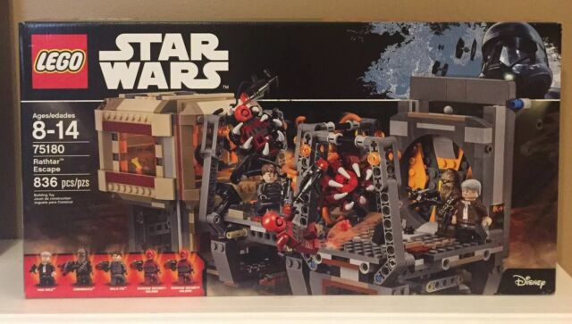 LEGO Star Wars Rathtar Escape 75180 Building Kit Brand New Factory Sealed