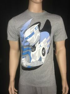 f5f7ced9c34 Nike Jordan Retro 11 Legend Blue Anime Kano Men's T-shirt Tee | eBay