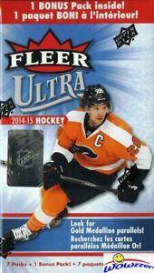 2014-15-Upper-Deck-Fleer-Ultra-Hockey-EXCLUSIVE-Factory-Sealed-Blaster-Box