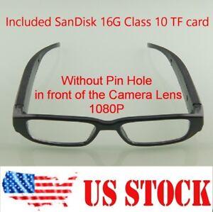 1080P Spy Hidden No Lens Hole Eyewear Glasses Camera DVR video ... eba58ec5f6