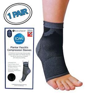 1af8669450 Image is loading IOMI-Pain-Relief-Plantar-Fasciitis-Compression-Sleeve-Socks -