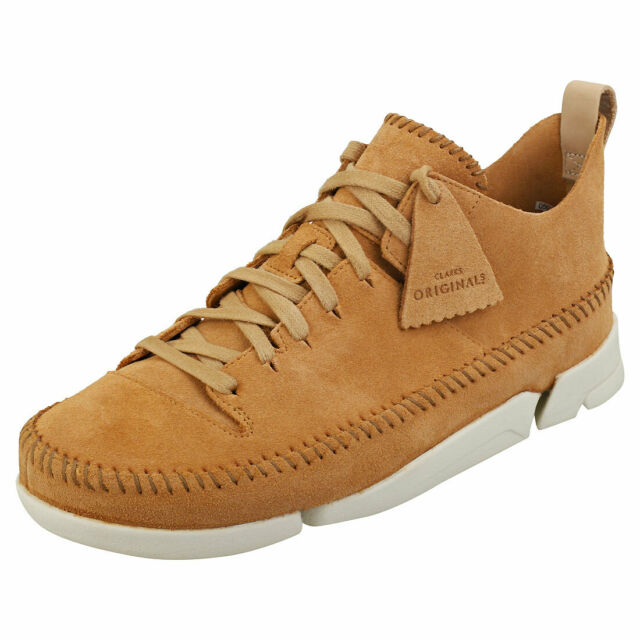 best loved Good Prices delicate colors Clarks Originals Trigenic Flex Mens Tan Suede Casual Shoes