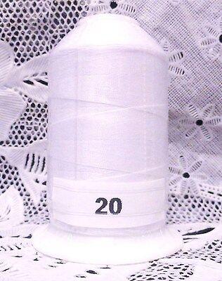 NEW White /& Black GUTERMANN miniking 100/% polyester thread 1094 yd Spools