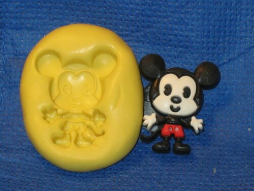 Mouse Silicone Mold  484 Cake Chocolate Resin Clay Fondant Sugarpaste Candy