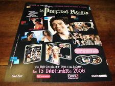 ROMAIN DURIS, CECILE DE FRANCE - Publicité de magazine LES POUPEES RUSSES !!!!!!