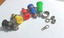 10pcs 4mm Banana Jack Binding Post Nut for Multimeter banana socket connector