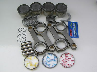 NIPPON RACING JDM HONDA VITARA D16 TURBO PISTONS SCAT RODS NPR ARP KING 76mm