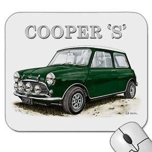 1963 1968 Austin Mini Cooper S Mouse Pad 4 Car Colours Ebay