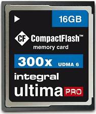 Integral 16GB 300x speed Ultima Pro Compact Flash Card.