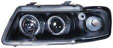 AUDI A3 (1995-2000) BLACK Halo ANGEL EYE Halo Proiettore Fari Anteriori luci