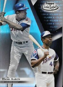 Hank-Aaron-2018-Topps-Gold-Label-Class-2-Black-Parallel-Braves-5
