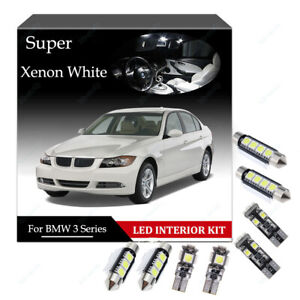Details About For Bmw 3 Series F31 Touring Led Interior Kit 17 Bulbs White Error Free Canbus