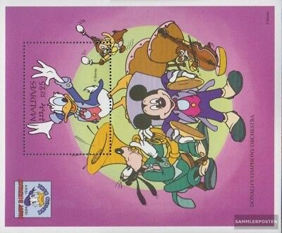 Conscientious Maldive (completa Edizione) Mnh 1995 Walt-disney-fig Donald Duck