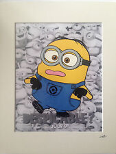 Despicable Me - Minions - Dancing -  Hand Drawn & Hand Painted Cel