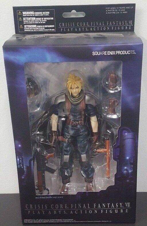 Final Fantasy VII  crisis Core-Jugar Arts nube conflictos estatuilla-Square Enix