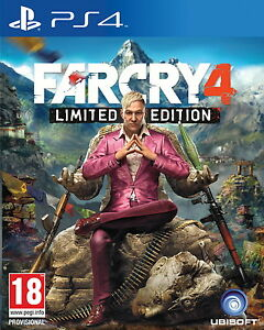 Far-Cry-4-Limited-Edition-PS4-MINT-Same-Day-Dispatch-Super-Fast-Delivery