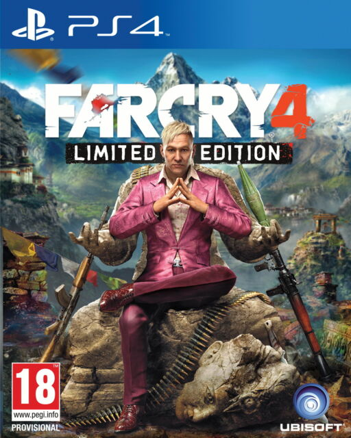 Far Cry 4: Limited Edition (PS4) MINT - Same Day Dispatch* Super Fast Delivery