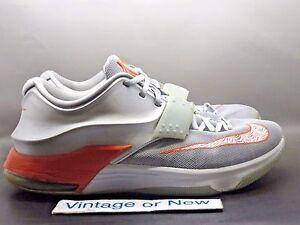 aba10082ddb3 Image is loading Nike-KD-VII-7-Texas-Longhorns-Kevin-Durant-