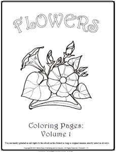 Malbuch 53 Malvorlagen Blumen Nr 1 Ausmalbilder Als Pdf Kinder