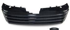 REPLACEMENT BLACK DEBADGED BONNET GRILL FOR VW PASSAT B7  10/2010 MODEL ONWARDS