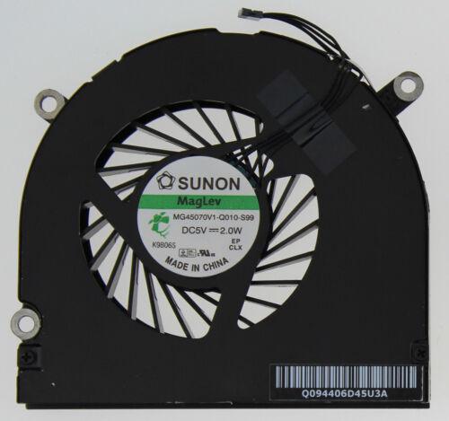 "Genuine Apple Macbook Pro 17/"" A1297 Right Cooling CPU Fan MG45070V1-Q010-S99 B72"