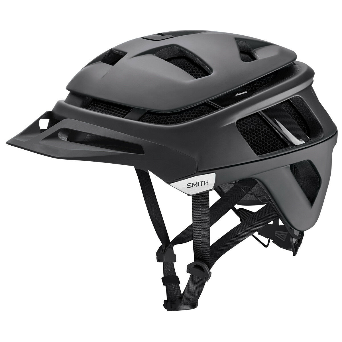 Casco de ciclo MTB Mountainbike SMITH Forefront Negro Mate oscuridad S   m   L