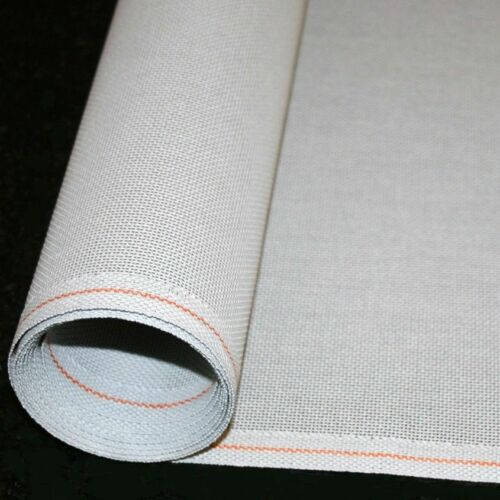 Mono Deluxe Blank Needlepoint Canvas SALE PRICES Orange line PEWTER Zweigart