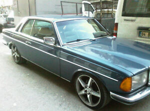 Mercedes W123 C123 Coupe Window Outside Seals Outer Rubber Scraper