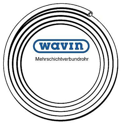 Wavin Mehrschichtverbundrohr PE-Xc/AI/PE 25 x 2,5 mm (50m) - 2,78 € / m
