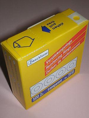 10 Packungen Avery Zweckform® Verstärkungsringe 13 mm im Spender 602401