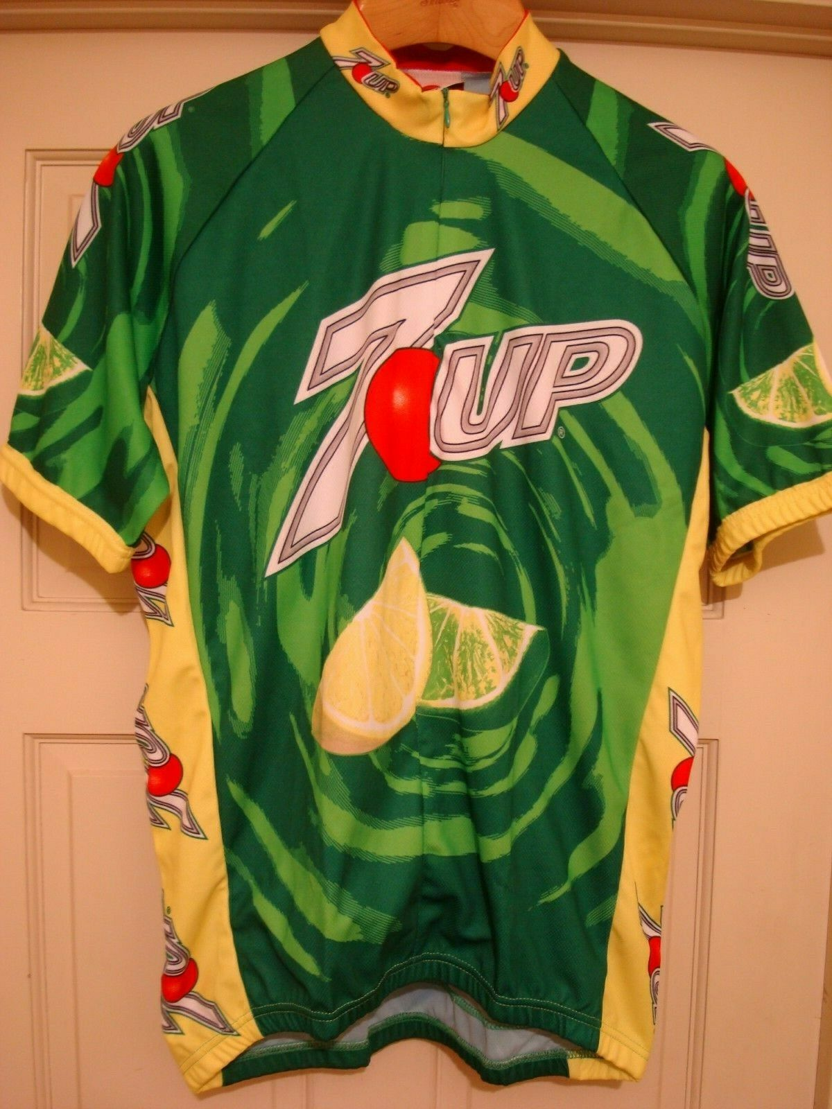 7 UP Bicycle Jersey XXl mens