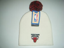 Chicago Bulls Authentic  Beanie / Toque  Knit Hat With Pom  New  Adidas