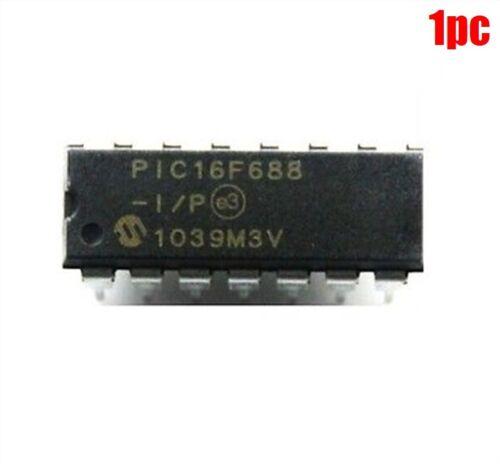 P 16F688-I 1 Stücke DIP-14 PIC16F688-I P Mcu New Ic ef