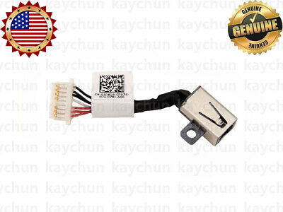 DC POWER JACK HARNESS CABLE FOR Dell Inspiron 13 7368 PF8JG 7378 7569 7579 JIUS0