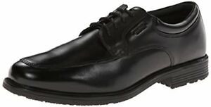 Image is loading Rockport-Mens-Lead-The-Pack-Apron-Toe-Black-
