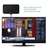 Ultra-thin Digital Hdtv Antenna Indoor Detachable Amplifier Signal Booster