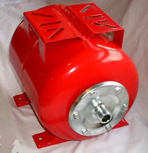 Hot-Sale-24-litre-RED-Pressure-Vessel-AntiHammer-Tank-for-Water-Pumps-25mm