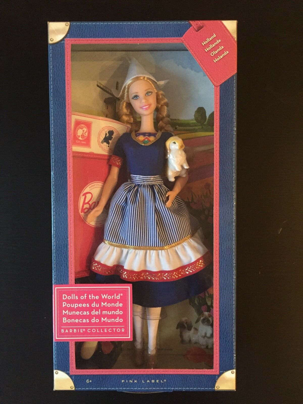 Mattel W3325 - Barbie Collector Dolls of the World Holland