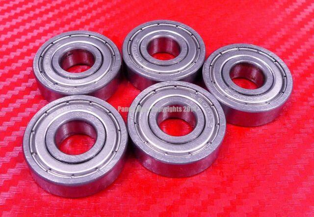"QTY 10 3//8/"" X 7//8/"" X 9//32/"" 440c Stainless Steel Ball Bearing R6ZZ SR6ZZ"