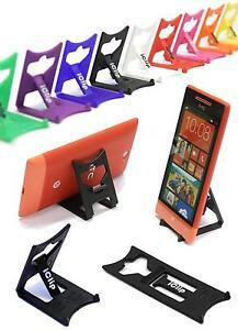 HTC Mobile Smart Phone Holder Noir Pliable Voyage Iclip Bureau Dislplay stand  </span>