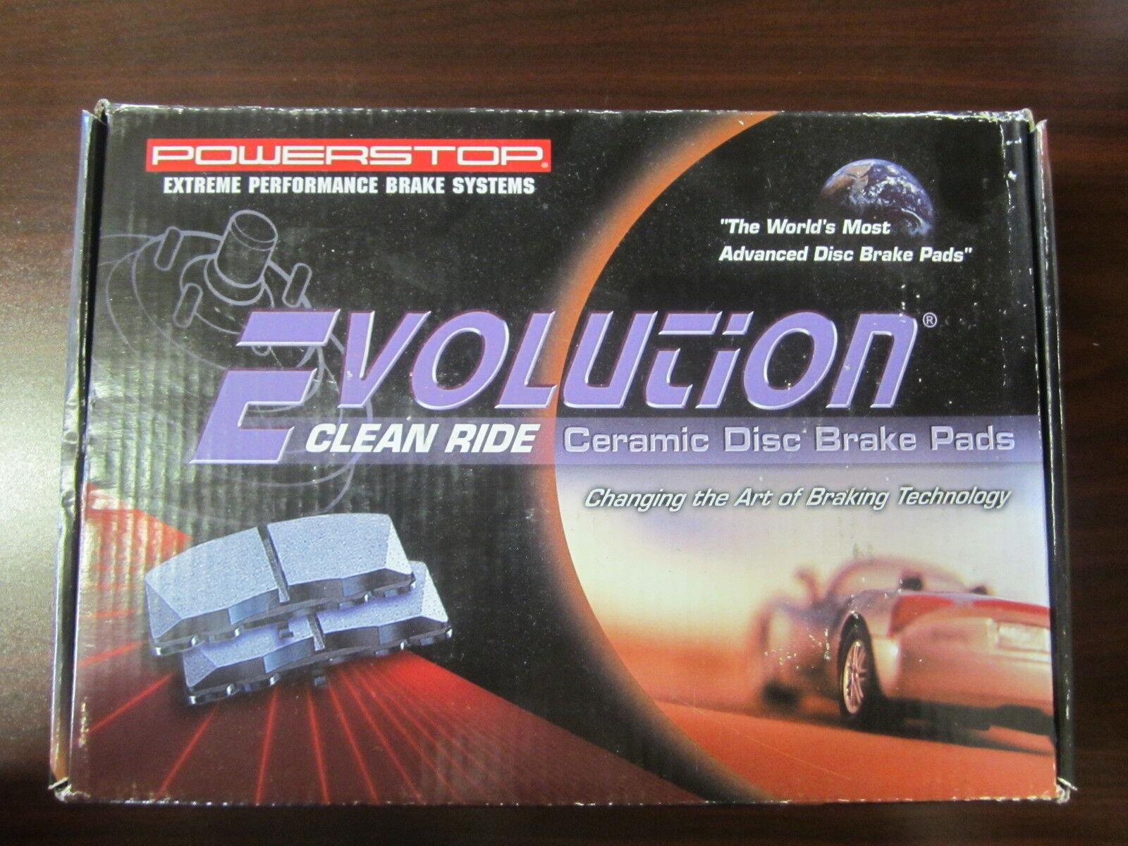 Power Stop 16-031 Z16 Evolution Rear Ceramic Brake Pads