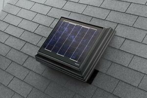New 22watt Solar Powered Roof Space Ventilator Attic Hot