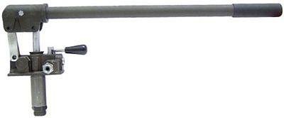 Hydraulische Handpumpe doppelwirkend für Anhänger und Kipper 310 bar