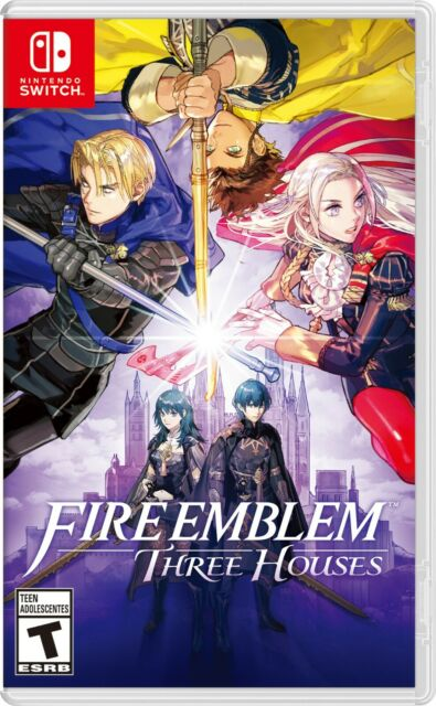 Fire Emblem Three Houses Standard Edition Nintendo Switch Video Game Brand New