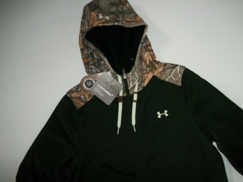 New Womens UNDER ARMOUR French Terry 1//2 Zip Hoodie S M L XL $65~$85