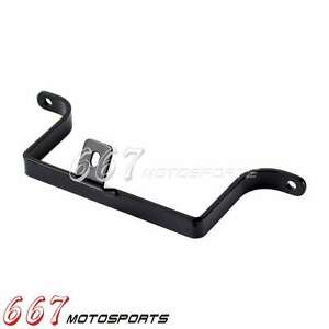 Black Saddlebag-to-F<wbr/>ender Support Bracket For 1984-2008 Harley FLT FLH Touring