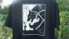 tyr fenris wolf med. t shirt asatru viking heathen norse pagan thors hammer