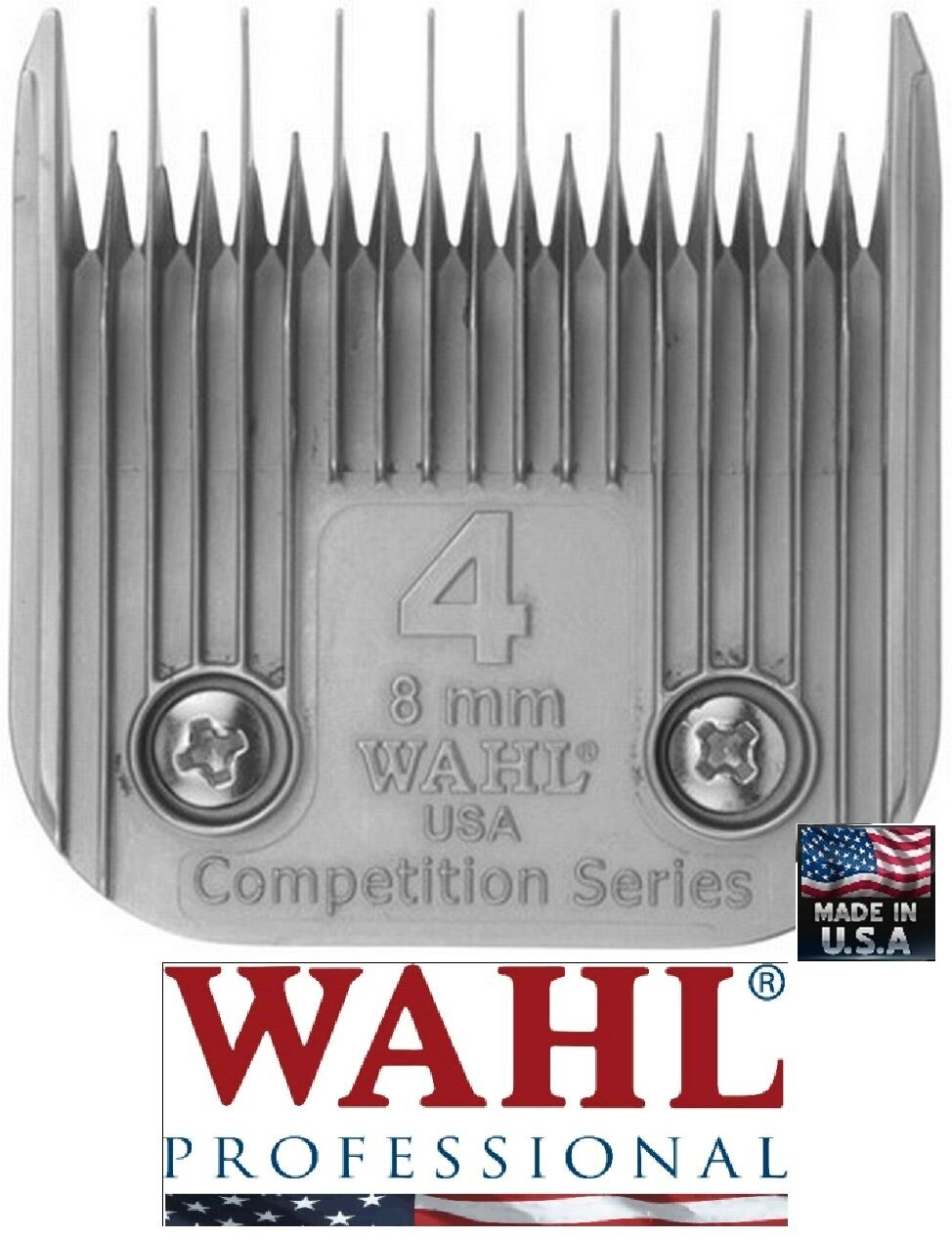 Wahl Competition Series 4 Skip 5 16 - 8mmFit Most Oster,Andis,A5 AG BG Clipper
